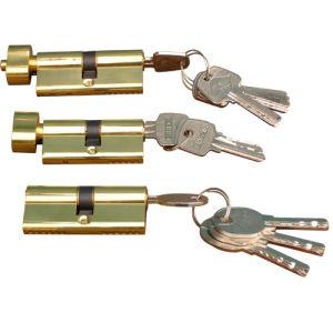 Brass Cylinder Lock, Door Cylinder Lock, Computer Key Cylinder Lock (AL-70) pictures & photos