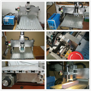 Water Cooling Spindle Mini 3D 5 Axis CNC Router Wood Working Machine