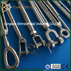 Stainless Steel European Type Closed Body Turnbuckle (Jaw and Jaw) pictures & photos