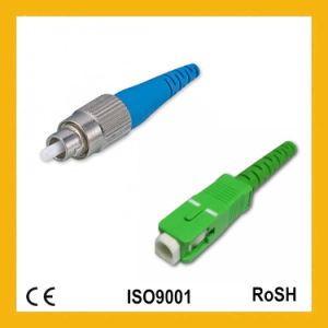 Simplex Single Mode 0.9/2.0/3.0mm Sc/FC Fiber Optical Connector pictures & photos