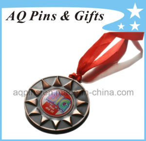 Custom 3D Medal in Antique Gold pictures & photos