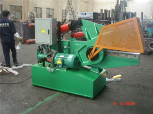Manual Hydraulic Scrap Metal Shearing Machine pictures & photos