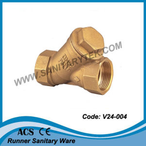 Y-Pattern Strainer Valve with S. S. Filter (V24-004) pictures & photos