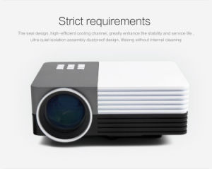 Ultra Portable Full HD Home Theater Digital LCD 3D LED Projector pictures & photos
