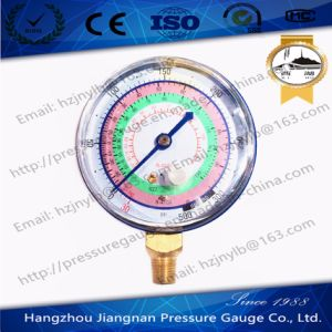 500psi Refrigerant Pressure Gauge with Brass Connector pictures & photos