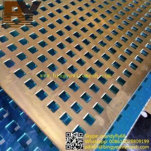 Decorative Aluminum Perforated Wire Mesh pictures & photos