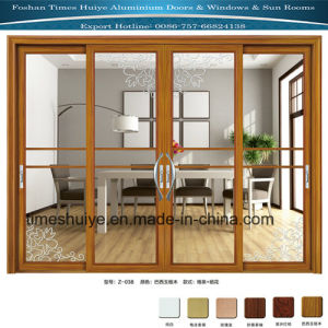Heavy Duty Aluminium Sliding Doors with 2/3/4 Panles pictures & photos