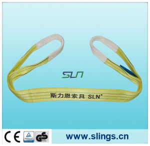 100% Polyester Webbing Sling Lifting Webbing Belt 3t pictures & photos