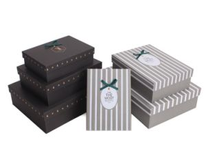 High Quality Gift Box with Happiness Deer Logo pictures & photos