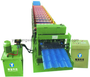 Glazed Roof Tile Roll Forming Machine pictures & photos