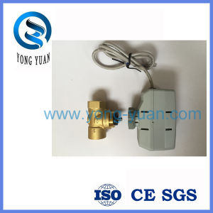 Two-Way on/off Electric Actuated Valve Motorized Valve for Fan Coil (BS-848) pictures & photos
