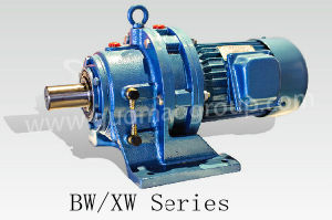 Guomao Bw Bwd Bl Bly Xw Xwd Series Cycloidal Pinwheel Transmission Reducer with Motor for Transportation Machinery