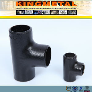 ASTM A234 Wpb Carbon Steel Pipe Fittings Tee pictures & photos