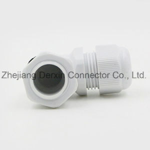 NPT3/8-NPT1 High Quality Dustproof Waterproof ISO Certified Elbow Cable Gland pictures & photos