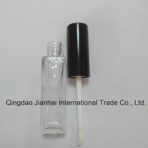 Hot Sell Lipstick and Lip Gloss Glass Bottle with Brush and Whipper pictures & photos
