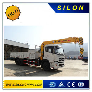Silon Sq12sk3q 12ton Straight Arm Truck Mounted Crane pictures & photos