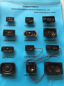 L30*W20mm Mini Multimedia Speaker with Racetrack Type pictures & photos