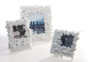 Sandstone Coral-Shape Photoframe for Home Decoration or Hotel Decoration