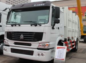 Sinotruk HOWO Compressed Garbage Truck for Best Selling pictures & photos