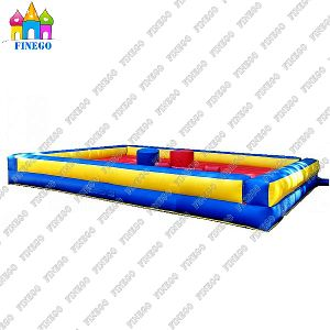 Inflatable Gladiator Jousting Game Field pictures & photos