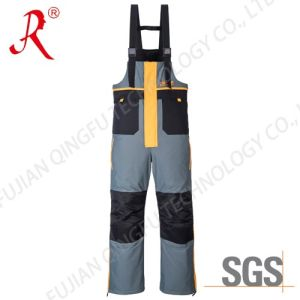2016 Latest Nylon Taslon Ice Fishing Bib Pants (QF-9080B)