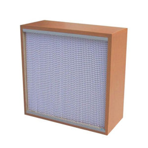 Clapboard Air Filter for High Cleanliness of Cleanroom