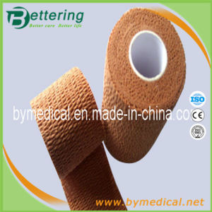 Medical Coflex Cotton Cohesive Elastic Bandage Skin Colour pictures & photos