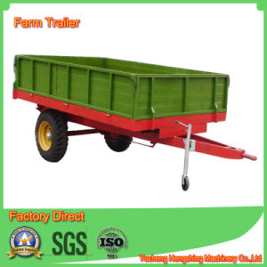 Europen Style Farm Tipping Trailer in Side Dumping pictures & photos