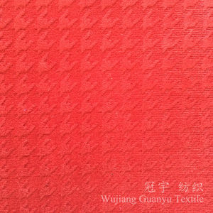Polyester Fabric Embossed Velvet for Beanbag and Sofa Decoration pictures & photos