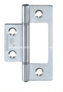SUS304 Satin Finish Flush Hinge for Wooden Door (KTG-501) pictures & photos