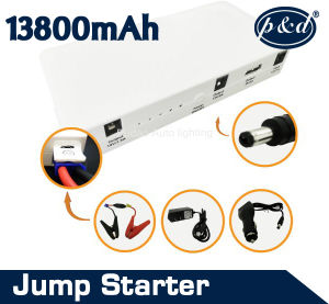 New Product 13800mAh 12V Portable Emergency Power Bank Car Jump Starter