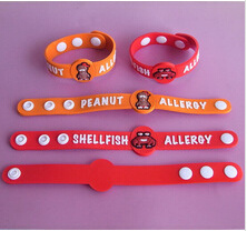 Cheap Promotion Plastic Rubber Wristband Bracelet pictures & photos