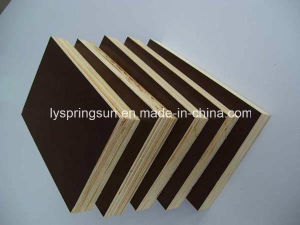 18mm Black Film Faced Shuttering Plywood pictures & photos