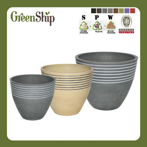 Handmade Line Decorative Flower Pot Mm-X Series