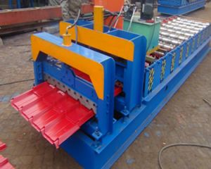 Dx 840 Trapezoidal Tile Roll Forming Machine pictures & photos