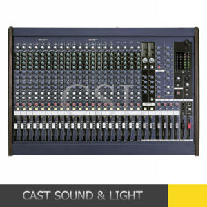 Professional Dual Stereo Digital Audio Mixer Mg24/14fx pictures & photos