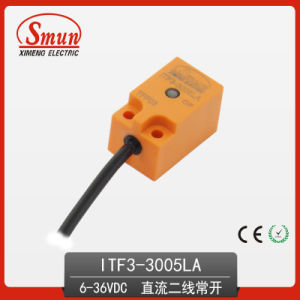 Inductive Proximity Sensor (ITF3-3005LA) 6-36VDC Two-Wires DC 5mm Detection Distance pictures & photos
