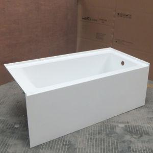 china apron skirted integrated spectra soaker tub china soaker bathtub cupc bathtubs. Black Bedroom Furniture Sets. Home Design Ideas