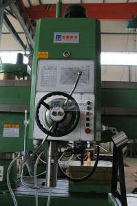 Hydraulic Clamping and Speed Changing Radial Drilling Machine (Z3080*25A) pictures & photos