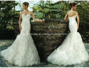 Sweetheart Bridal Gowns Cloudy Mermaid Wedding Dresses Z5058 pictures & photos