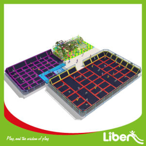 Liben for Sale Indoor Trampoline Area with Indoor Playground pictures & photos