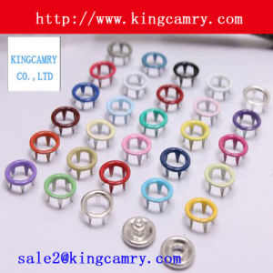 Brass/Metal Spring Metal Prong Snap Buttons Clothes Buttons pictures & photos
