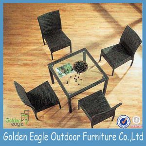 UV Resistant PE Rattan Outdoor Dining Furniture (FP0019) pictures & photos