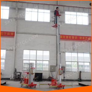 Electric Battery Vertical Mast Man Lifts pictures & photos