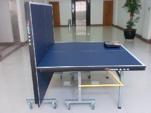 Outdoor Table Tennis Double-Folding Mobile Table pictures & photos