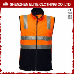 China Wholesale Custom Orange Reflective Workwear Safety Vest (ELTHVVI-2) pictures & photos