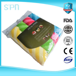 Transparent Polybag Packing Sports Microfiber Cleaning Towel pictures & photos