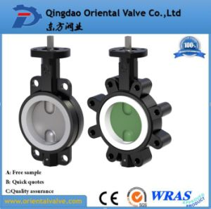 Ductile Iron Demco Wafer Lug Butterfly Valve pictures & photos