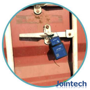 GPS Trailer Sealing Lock Tracker with Inbuit Big Capacity Battery 15600mA for Cargo Security Solution pictures & photos