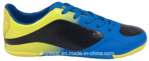 Men′s Soccer Indoor Shoes with Rubber Outsole Footwear (815-9454) pictures & photos